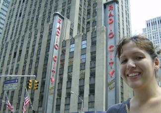 Radio City Music Hall Manhattan New York