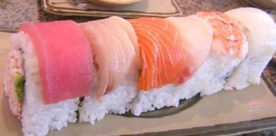 Ariake rainbow roll