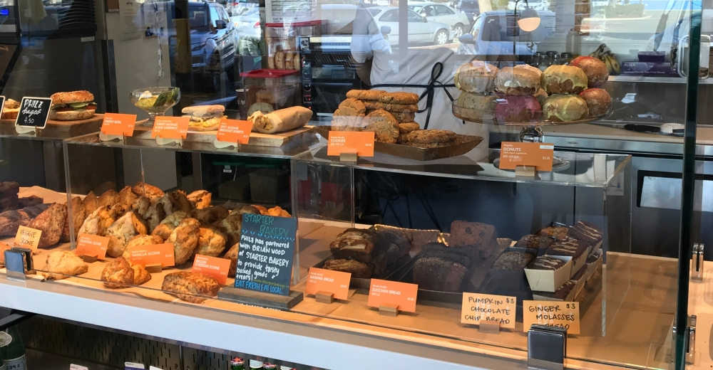Philz Coffee provides pastries