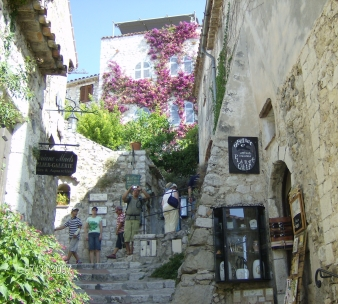 The storybook town of Eze