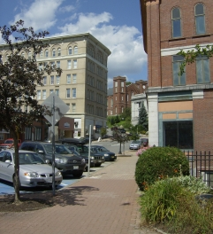 downtown Bangor, Main streets