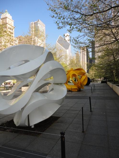 Millenium Park Art in Chicago