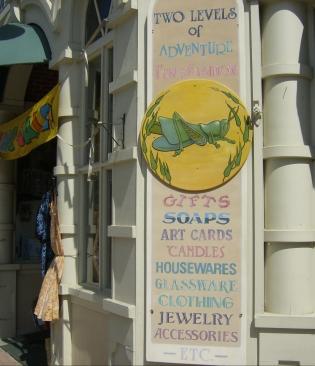 The Grasshopper Shop in Bangor, Maine